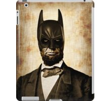 Batman + Abe Lincoln Mashup iPad Case/Skin