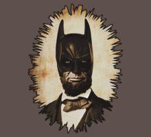 Batman + Abe Lincoln Mashup Kids Clothes