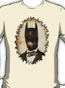 Batman + Abe Lincoln Mashup T-Shirt