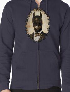 Batman + Abe Lincoln Mashup Zipped Hoodie
