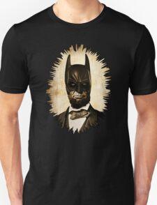 Batman + Abe Lincoln Mashup Unisex T-Shirt