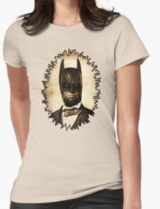 Batman + Abe Lincoln Mashup Womens Fitted T-Shirt