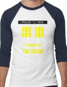Doctor Who Tardis Men's Baseball ¾ T-Shirt