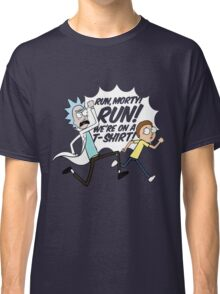 Rick and Morty On A Tshirt Classic T-Shirt