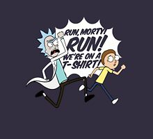 Rick and Morty On A Tshirt Unisex T-Shirt