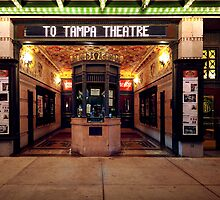 off to the movies at tampa theatre by james smith