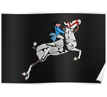 Lipizzaner Performing the Capriole Poster