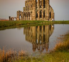 Whitby Abbey by Anthony Gregory