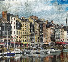 Textures of Honfleur by Lanis Rossi