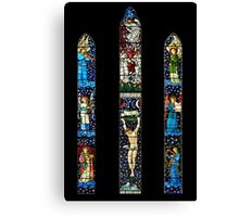 East Window, St James Church, Staveley, Cumbria Canvas Print