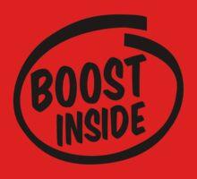 boost inside Kids Tee