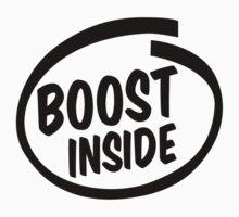 boost inside One Piece - Short Sleeve