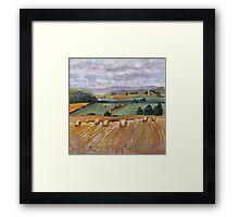Rural Impressions  Framed Print