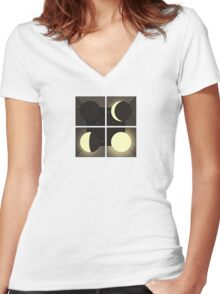 Bombay Bicycle Club - Luna Women's Fitted V-Neck T-Shirt