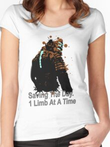 Dead Space - Issac Women's Fitted Scoop T-Shirt