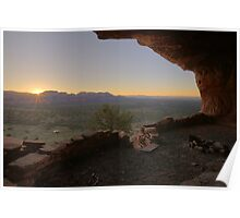 Sunrise at Thieves Den Poster