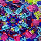 Excerpt 9 from Rube Goldberg Abstract by Regina Valluzzi