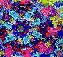 Excerpt 9 from Rube Goldberg Abstract by Regina Valluzzi