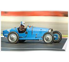 Bugatti T35B Poster