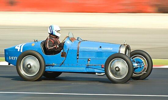 Bugatti T35B by Willie Jackson