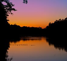 West Pearl Sunset by Michael Reimann