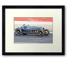 Hispano Delage 500CV Framed Print