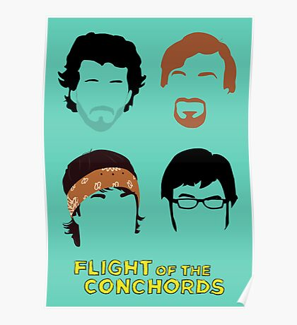 Flight of the Conchords: Silly-ettes Poster