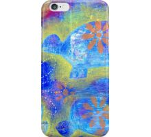 Garden in my heART - Turtle iPhone Case/Skin
