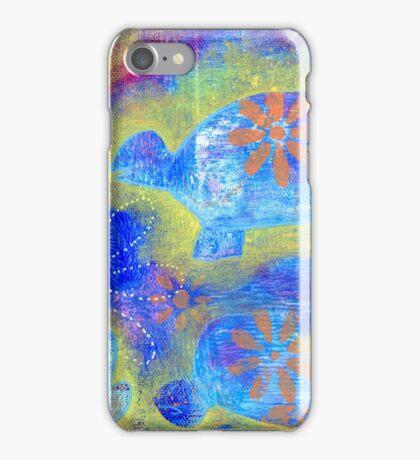 Garden in my heART - Turtle iPhone Case/Skin