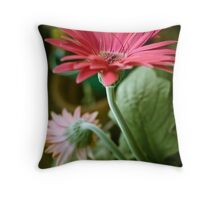 Growing In Different Directions Throw Pillow