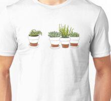 Succulent Cactus Print Unisex T-Shirt