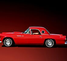 1956 Ford Thunderbird by TeeMack
