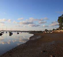 Tranquil morning on the Deben River by TonyGeary