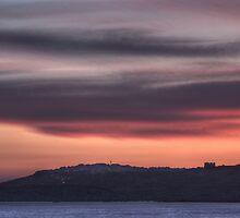 St. Paul's Bay Sunset by M G  Pettett