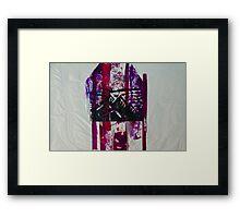 Pink Mountain Range Framed Print