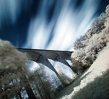 Saltburn Viaduct (IR) (II) by PaulBradley