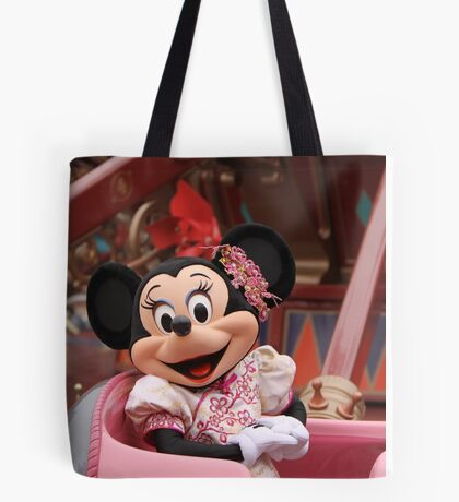 Mouse in a Chair Tote Bag