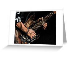 Stevie Ray Vaughn Greeting Card
