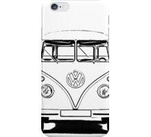 VW Bus T-shirt iPhone Case/Skin