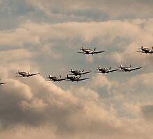 Spitfire Big Wing by J Biggadike