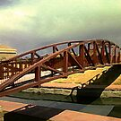 HARP Landscape with Bridge by Lenore Senior