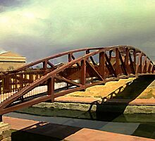 HARP Landscape with Bridge by Lenore Senior