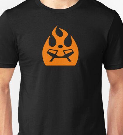 Lava Strike Force Emblem - Orange T-Shirt