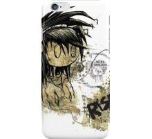Rise Against - High Detail Grunge Print  iPhone Case/Skin