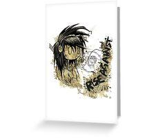 Rise Against - High Detail Grunge Print  Greeting Card