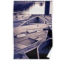 the fishing boats of chatham Poster