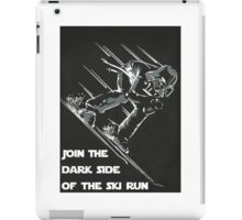 Darth Vader Skiing  iPad Case/Skin