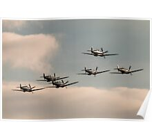 Spitfire Battle of Britain Poster