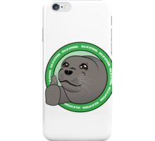 Seal Of Aproval iPhone Case/Skin