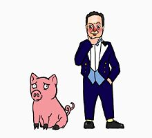 David Cameron and a Pig Unisex T-Shirt